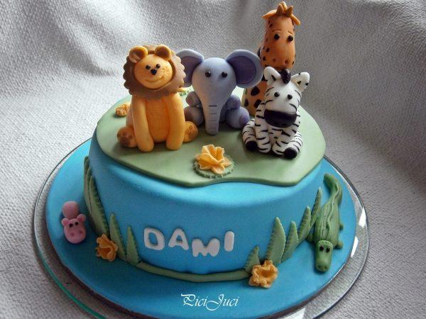 állatos torta képek Állatos torta / Animals cake « Picijuci Cukrászdája állatos torta képek